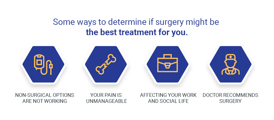 ways to decide if surgery is right for you