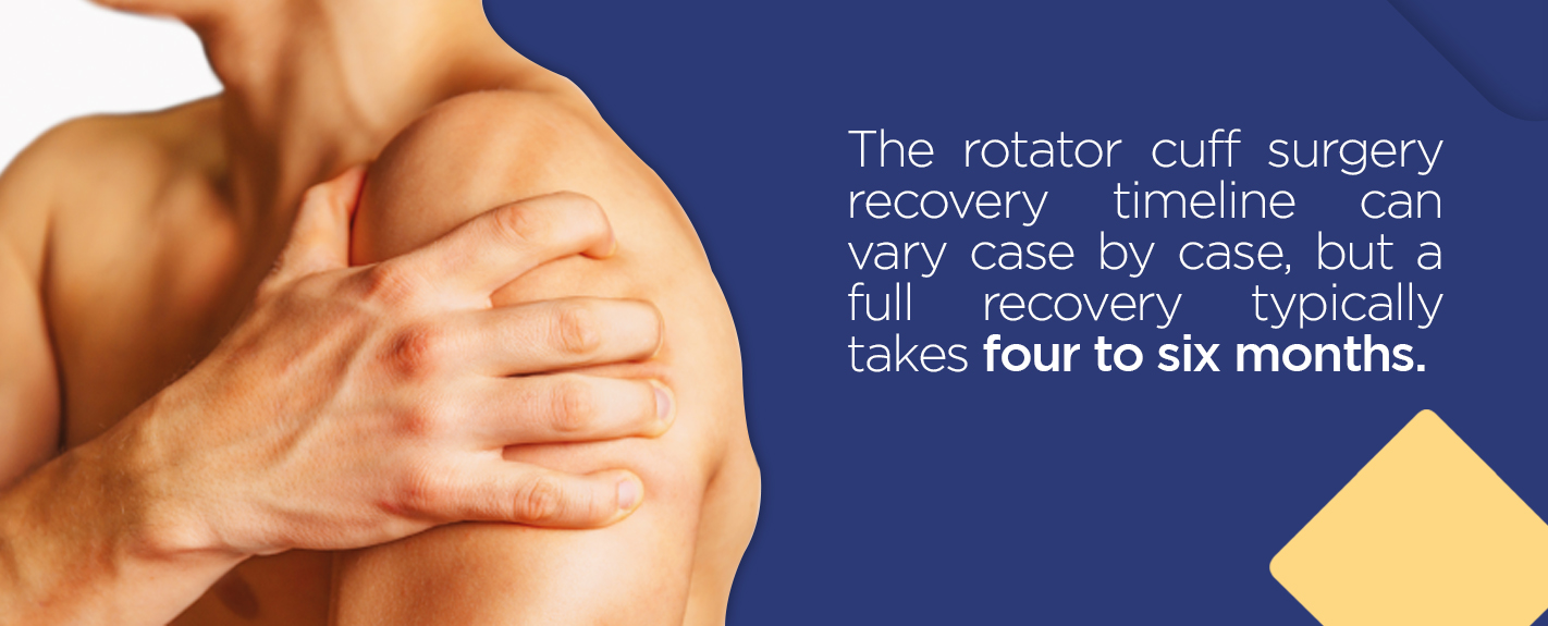 rotator cuff surgery recovery timeline