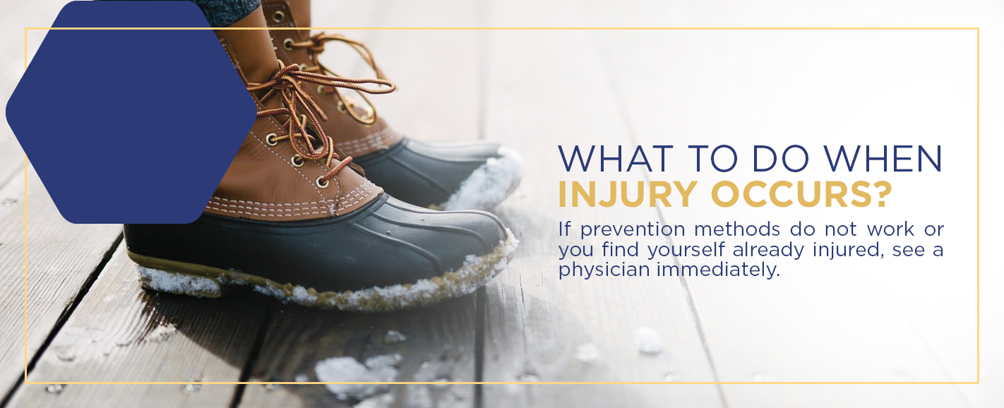 What to do when an injury occurs